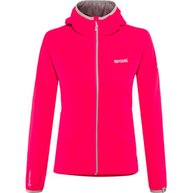 Regatta Arec II Jacket Damen neon pink/light steel